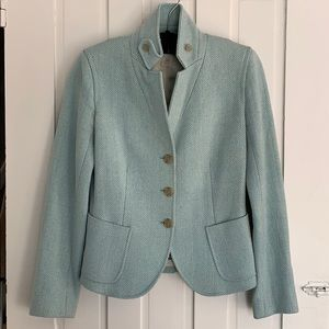 J. Crew Women's Wool Herringbone Blazer Size 2